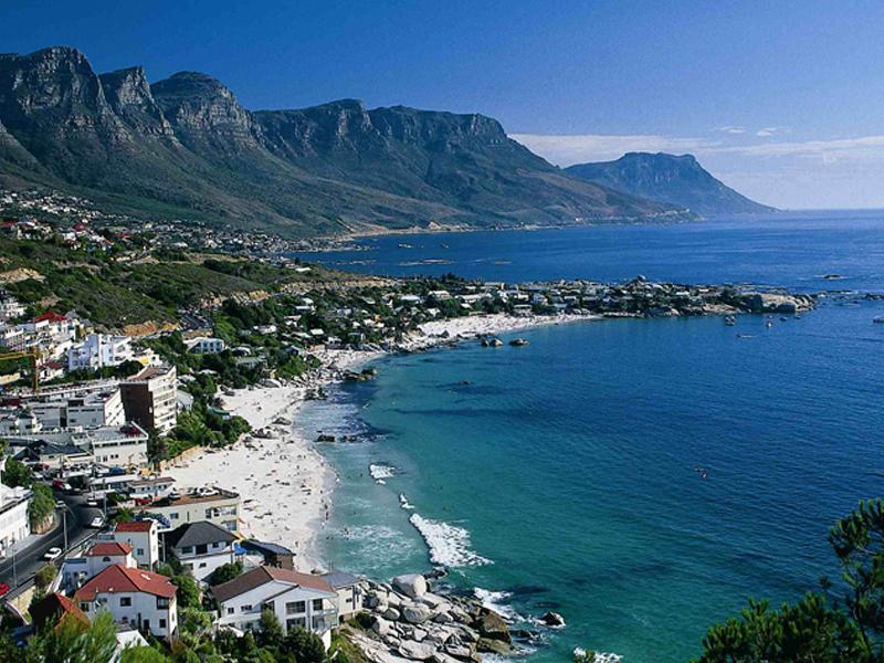 Internet, das südafrikanische Kapstadt