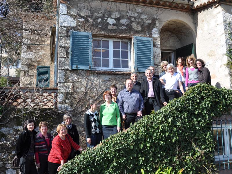 Ältere erwachsene französische Kurse in Frankreich