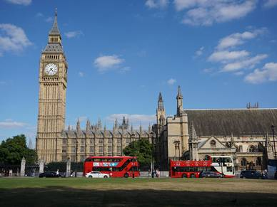 Big Ben - Sprachreisen nach London City, Oxford Street
