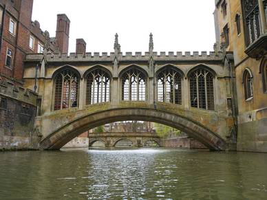 Bridge of Sighs - Englisch Sprachreise Cambridge Girton