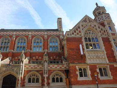 Old Divinity School in Cambridge - Sprachreise Girton
