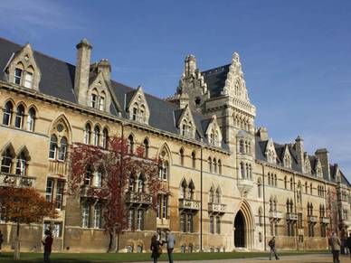 Christ Church College, Englisch Sprachreisen Oxford Premium