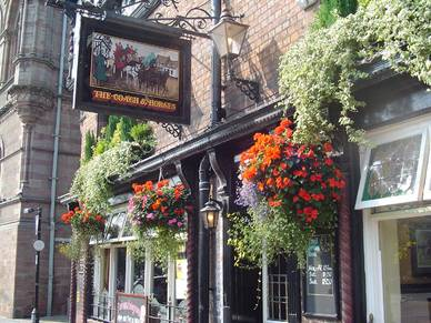 Pub in Chester, Business Englisch Sprachreisen England