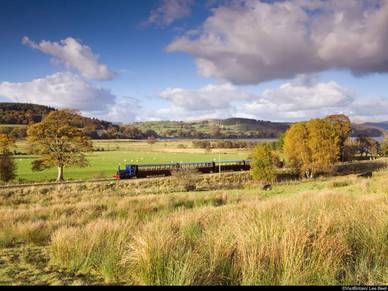 The Bala Lake Railway, Business-Englisch in Wales