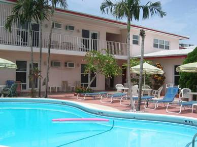 Poolanlage Stio-Apartment, Sprachreisen Fort Lauderdale