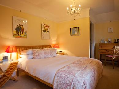 Doppelzimmer Beispiel Claremont House, Business English Brighton