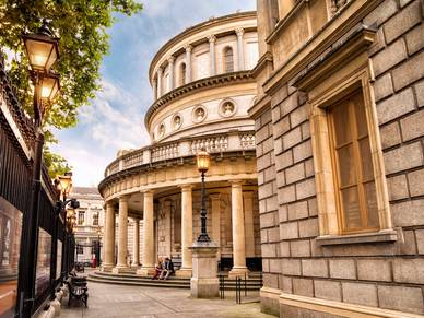 National Museum of Ireland in Dublin - Business Englisch Sprachentraining