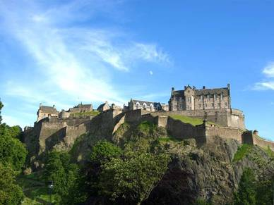 Edinburgh Castle, Business Englisch Sprachreise Schottland