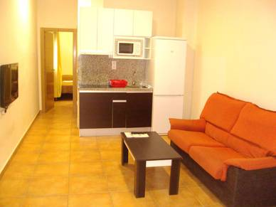 Kitchenette/Aufenthaltsraum Appartement, Alicante Sprachreise