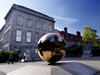 Skulptur, Trinity College - English Sprachentraing Dublin