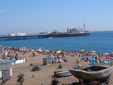 Sommer in Brighton, Business Englisch Sprachreisen England