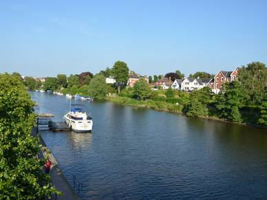 Boote in Chester, Business Englisch Sprachreisen England