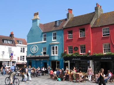Pubs in Brighton, Business Englisch Sprachreisen England