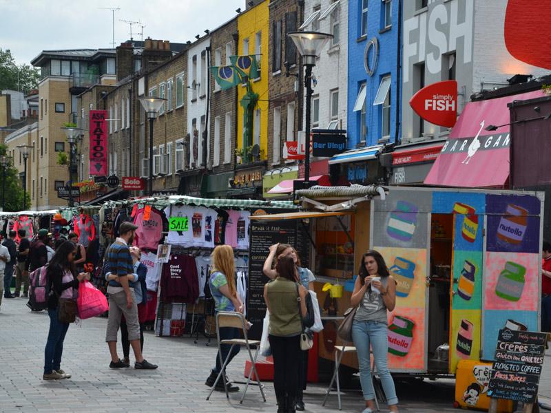London Camden Sprachreise England - Englisch für Erwachsene